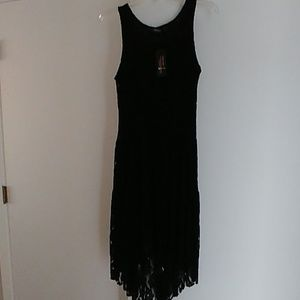 Adorn black lace dress